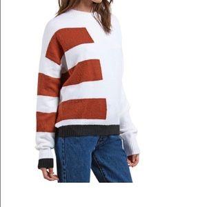 Volcom Sweaters - Volcom Cold Stripe Sweater, Size Large